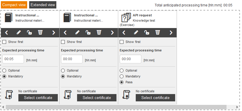 Avendoo API course main page function fn_getLearnpath()